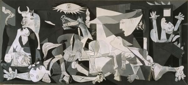 guernica entre as pinturas mais famosas do mundo