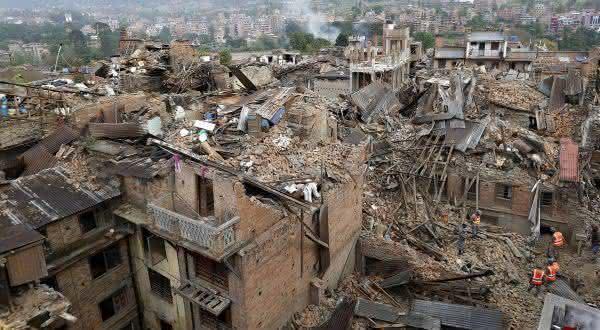 nepal entre os paises mais propensos a terremotos