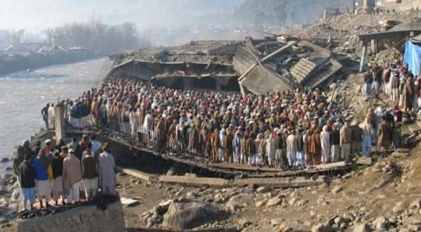 paquistao entre os paises mais propensos a terremotos