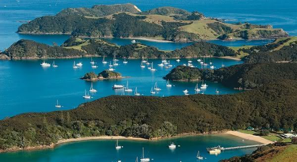 Bay of Islands  entre as baias mais bonitas do mundo