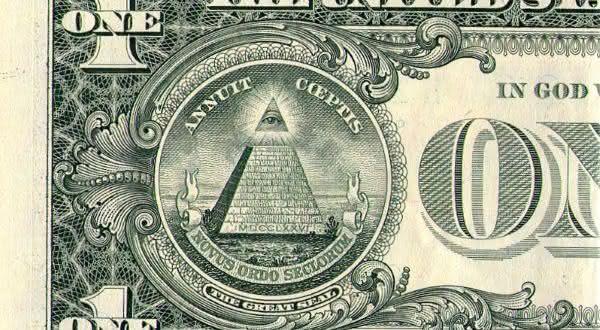 dolar entre os escandalosos segredos maconicos