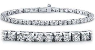 Diamond 18K White Golds entre as pulseiras mais caras do mundo