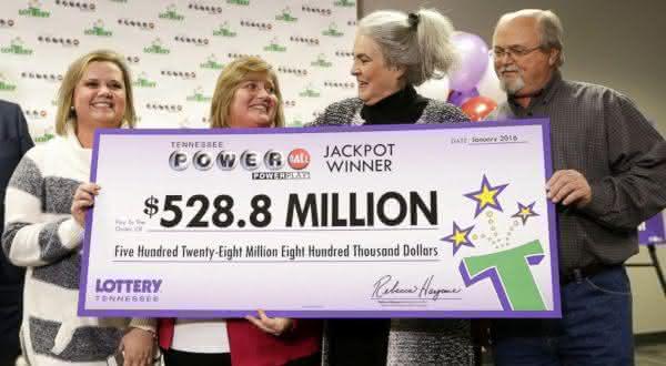 1 bilhão entre os maiores prêmios de loterias