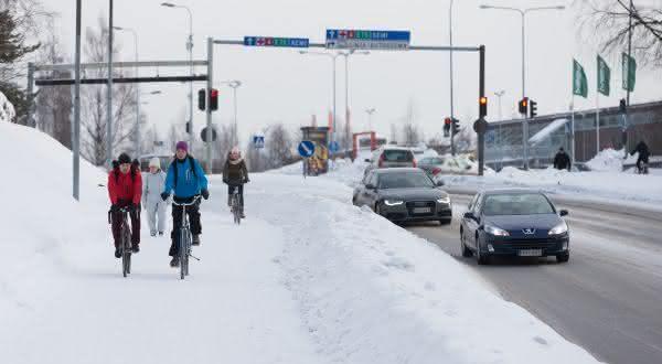 finlandia entre os países com mais bicicletas por habitantes