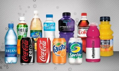 coca cola entre as maiores empresas de produtos de consumo do mundo