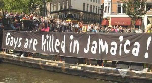 jamaica entre os países que condenam e punem homossexuais