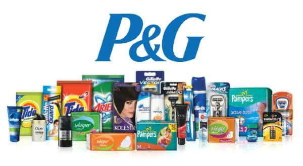 p e g entre as maiores empresas de produtos de consumo do mundo