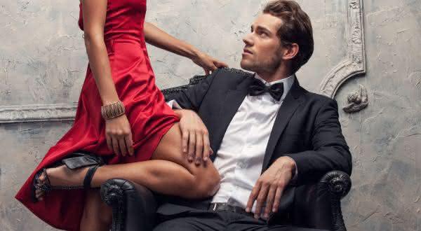 ricos entre os tipos de homens irresistíveis para as mulheres