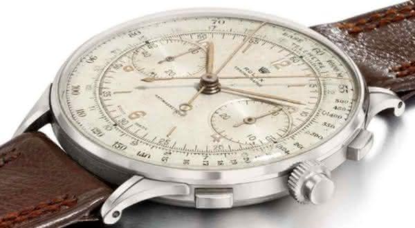 1942 Rolex Chronograph entre os relogios rolex mais caros do mundo