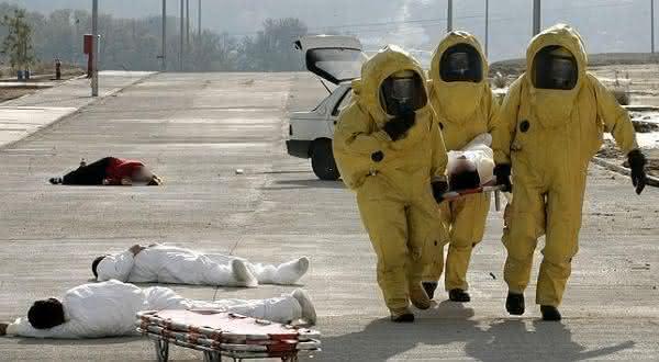 bombas quimicas entre as armas de destruição em massa mais perigosas