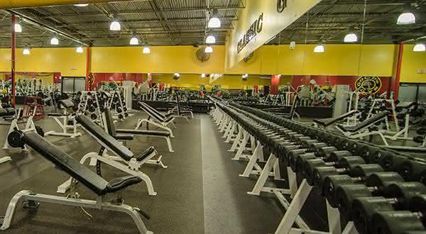 Golds Gym entre as melhores academias do mundo