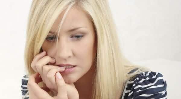 ansiedade entre os sinais que mostram uma pessoa culpada