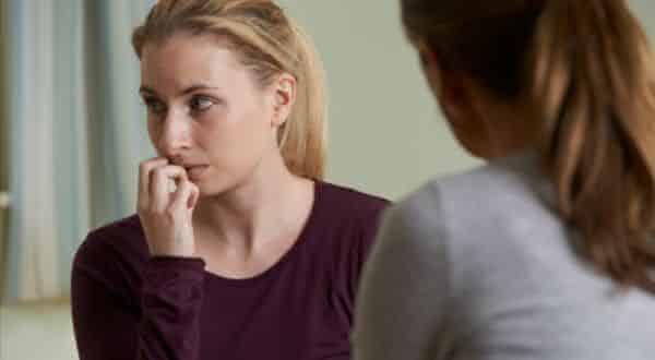 evitar contato entre os sinais que mostram uma pessoa culpada