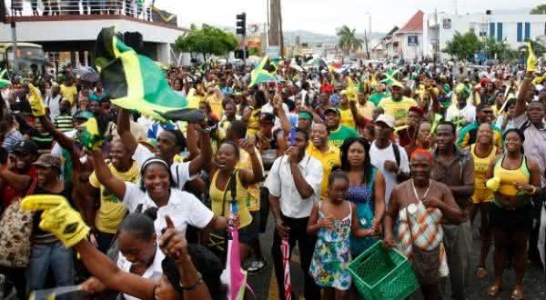 jamaica  entre os países com maior população negra fora da África