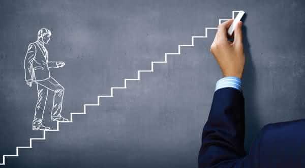 objetivos entre as diferenças entre as pessoas comuns e as pessoas bem sucedidas