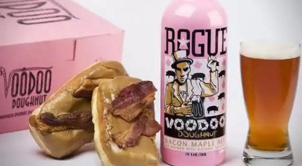 Doughnut Bacon Maple Ale entre as bebidas mais bizarras do mundo