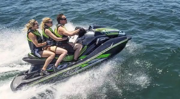 Kawasaki Jet Ski Ultra 310LX entre os jetskis mais caros do mundo
