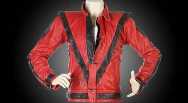 jaqueta thriller entre as jaquetas mais caras do mundo