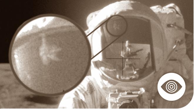 objeto nao explicado entre as razoes pelas quais a chegada do homem a lua e falsa