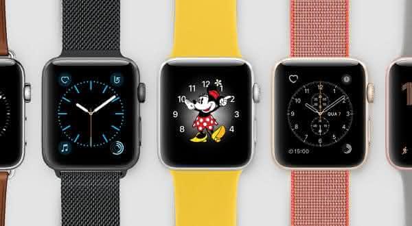Apple Watch entre os relogios mais vendidos do mundo