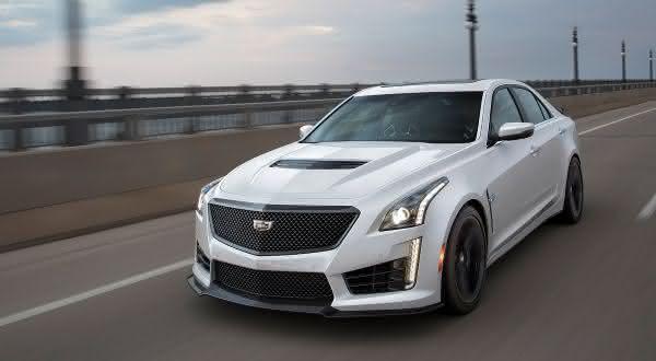 Cadillac CTS-V Sedan entre os sedan 4 portas mais rapidos do mercado