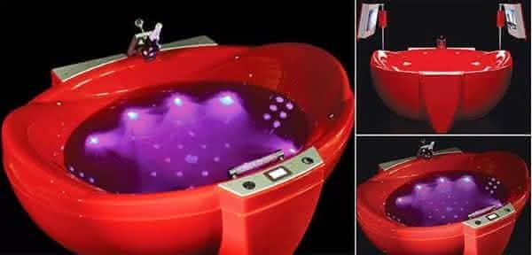 Red Diamond entre as banheiras mais caras do mundo