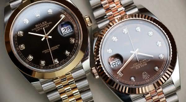 Rolex DateJust entre os relógios mais vendidos do mundo