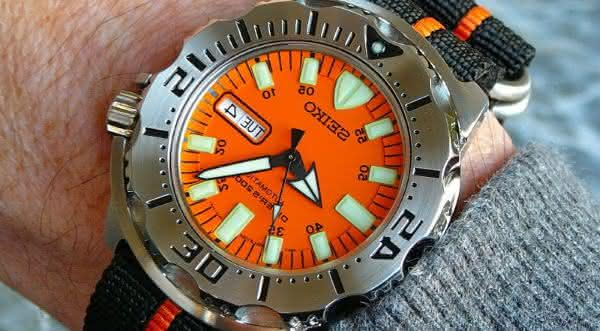 Seiko Orange Monster entre os relogios mais vendidos do mundo