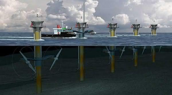 mares entre as fontes alternativas de energia renováveis