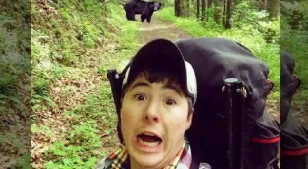 ursos entre os selfies mais perigosos de todos os tempos