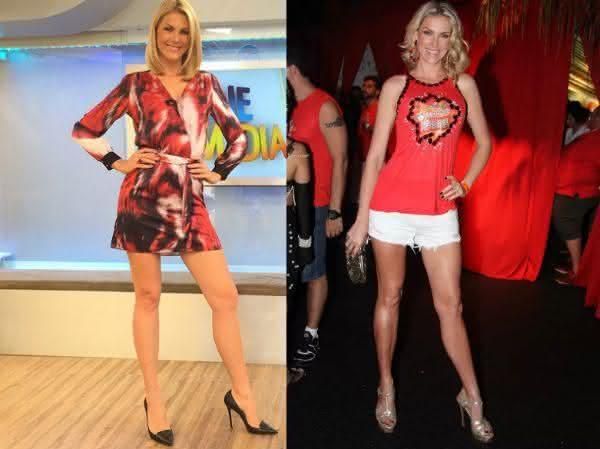 Ana Hickmann entre as mulheres com as pernas mais longas do mundo