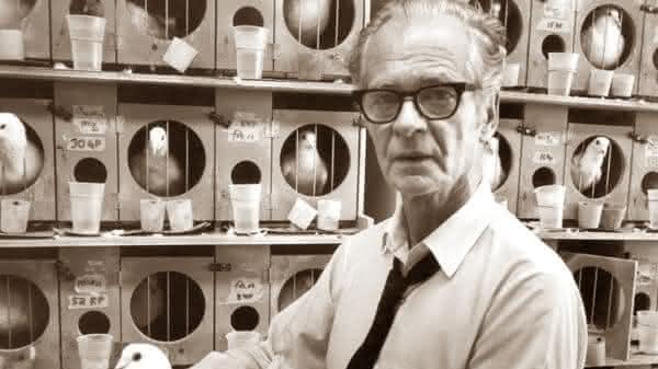 B F Skinner entre os psicologos mais famosos de todos os tempos