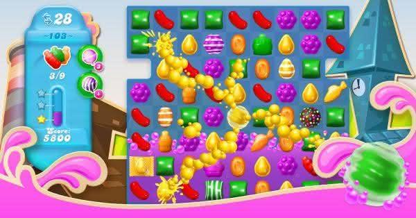 Candy Crush Soda Saga entre os jogos de celular de maior sucesso de todos os tempos