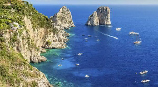 Capri 2 entre as melhores ilhas do mundo