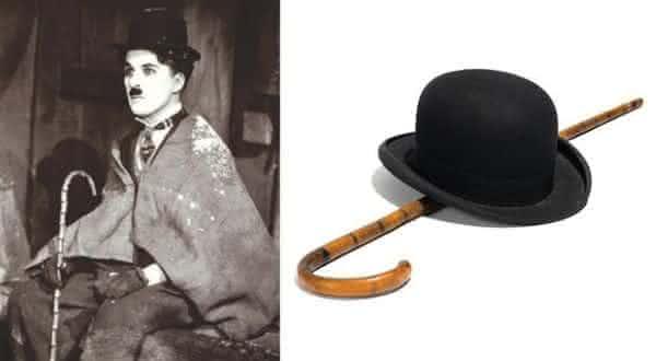 Charlie Chaplin Bowler Hat entre os chapéus mais caros do mundo
