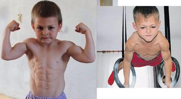 Top 10 crianças mais fortes do mundo 3