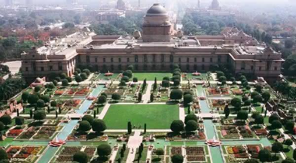 Rashtrapati Bhavan entre os maiores palácios do mundo