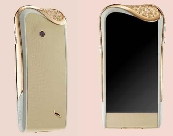 Savelli Champagne Diamond entre os celulares android mais caros do mundo