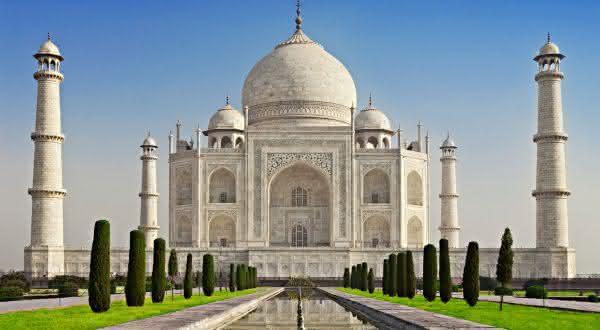 Taj Mahal entre as maravilhas do mundo