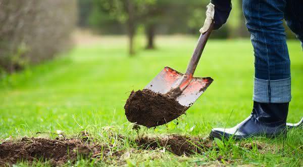 buraco quintal entre os lugares seguros para esconder objetos de valor em sua casa
