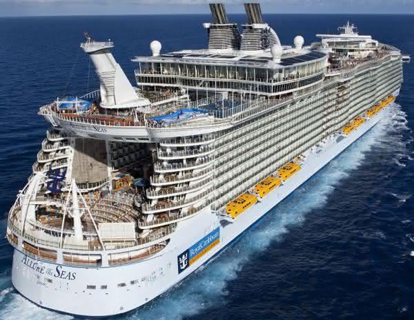 Top 10 navios de cruzeiros mais caros de todos os tempos 6
