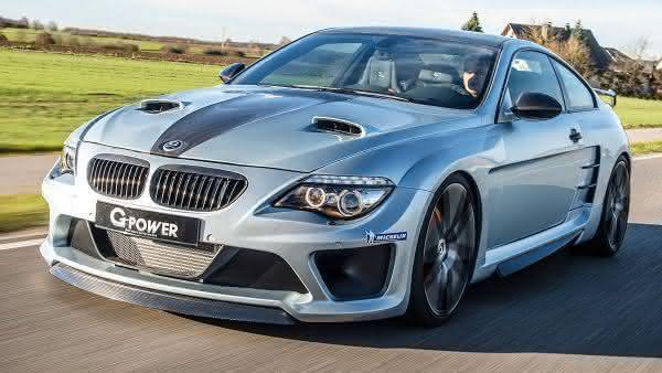 BMW M6 G-POWER HURRICANE CS entre os carros mais caros da bmw