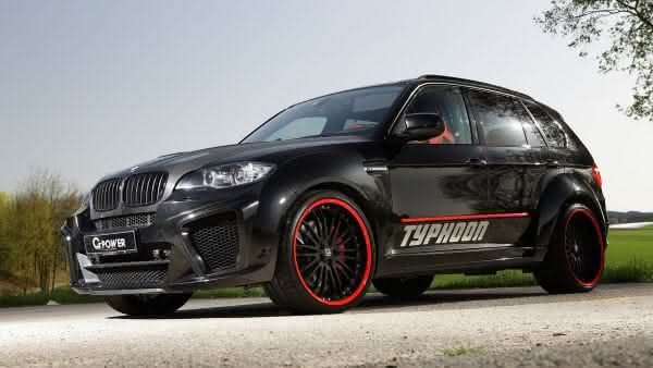 BMW X5M G-POWER TYPHOON entre os carros mais caros da bmw