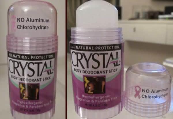Crystal Body Deodorant Stick entre os desodorantes mais caros do mundo