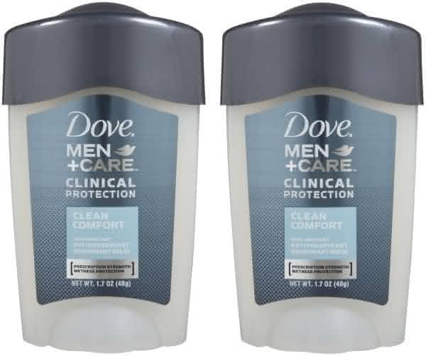 Dove Men Plus Care Clinical Protection entre os desodorantes mais caros do mundo
