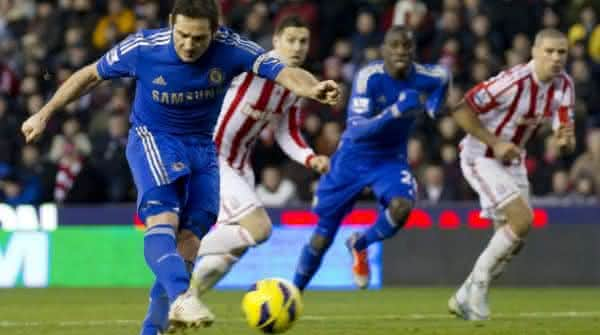 Frank Lampard entre os melhores cobradores de penaltis de todos os tempos