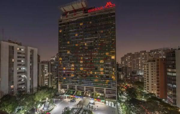 Maksoud Plaza entre os melhores hotéis de são paulo