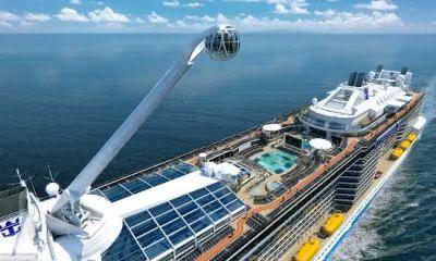 Top 10 navios de cruzeiros mais caros de todos os tempos 2