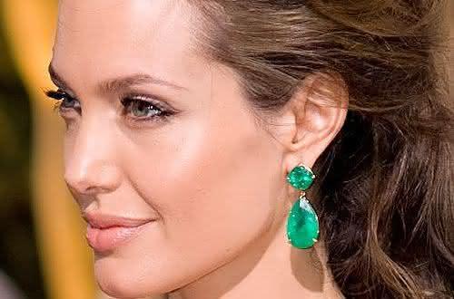gota de esmeralda entre os brincos mais caros do mundo