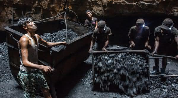 india entre os maiores países produtores de carvão